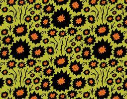 distel bloemenpatroon