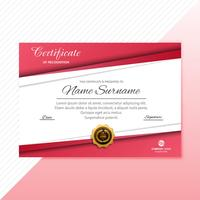 Certificaat Premium sjabloon awards diploma achtergrond vector