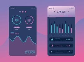 Diagrammen UI Kit Vector