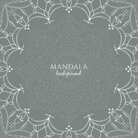 Abstracte mooie luxe mandala achtergrond
