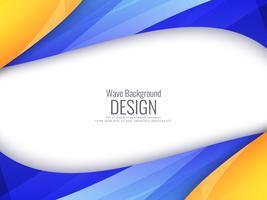 Abstracte heldere kleurrijke golvende achtergrond vector