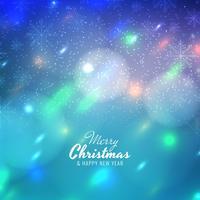 Abstracte prettige kerst kleurrijke achtergrond vector