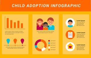 Internationale aanvaarding Infographics Vector