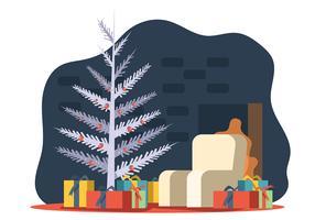 Kerstboom van het midden van de eeuw