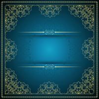 Abstracte stijlvolle mandala achtergrond vector