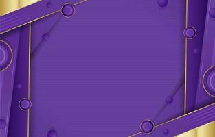 gouden lavendel lila achtergrond vector