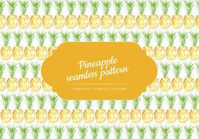 Vector Hand getrokken ananas patroon