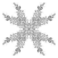 Moderne bruiloft floral design achtergrond vector