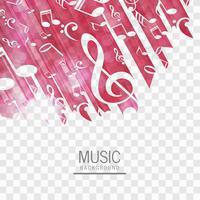 Abstracte muziek achtergrond vector