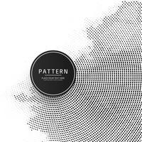 Mooie cirkelvormige halftone achtergrond vector