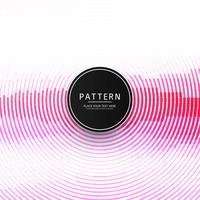 Moderne roze cirkelvormige lijnpatroon achtergrond