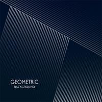Abstracte creatieve geometrische het ontwerpvector van vormlijnen