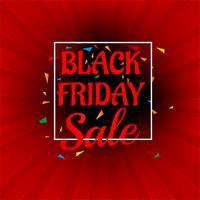 Mooie abstracte zwarte vrijdag verkoop poster ontwerp vector