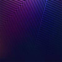 Abstracte kleurrijke geometrische lijnenvector als achtergrond