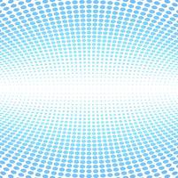 Moderne blauwe halftone achtergrond vector