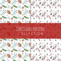 Leuke kerst patroon collectie vector