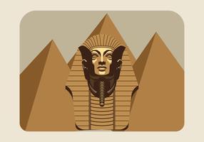 farao vectorillustratie vector