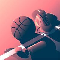 Basketbal trainingsmateriaal