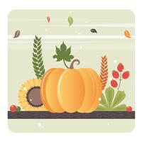 Vector herfst elementen illustratie