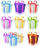 Geschenkverpakking vector