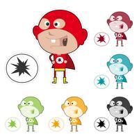 Super Kid-sticker
