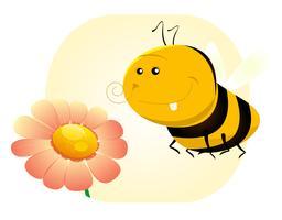 lente bee vector