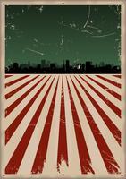 Grunge Amerikaanse poster vector