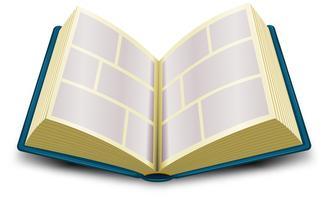 Stripboek vector