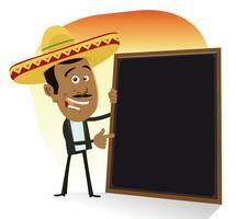 Mexicaans menu vector