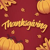 Thanksgiving vector ontwerp
