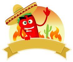 Tex Mex Spice-banner vector