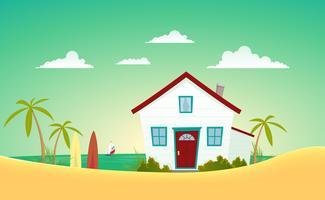 Huis van het strand
