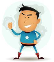 komisch superheldenkarakter
