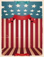 Vierde juli - Amerikaanse achtergrond vector