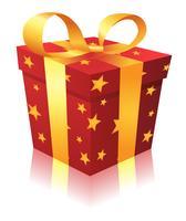 kerst geschenkdoos vector