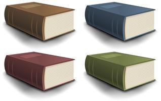 Grote oude boekencollectie