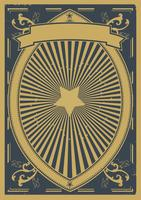 Vintage Retro Poster Achtergrond