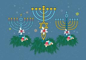 menorah vector