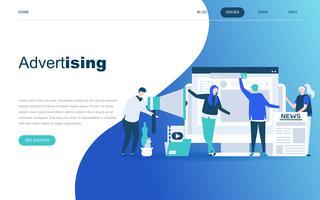 Advertentie en promotionele webbanner vector