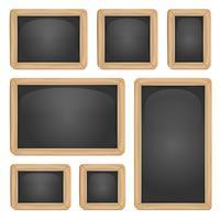 schoolbord set vector