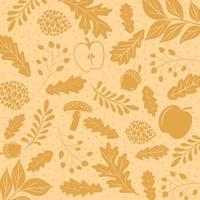 herfstbladeren achtergrond vector