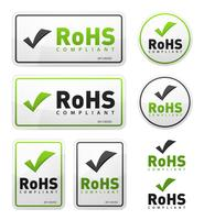 RoHS-conforme pictogrammen instellen