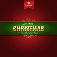 Kerst Ornament Achtergrond vector