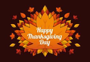 Thanksgiving van Papercraft vector