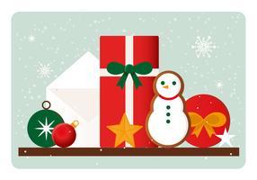 Vector Kerst Elementen Illustratie