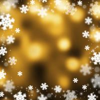 Kerstmis abstarct achtergrond van sneeuwvlokken, illustratie