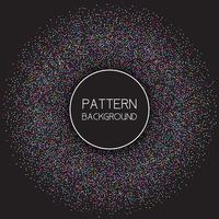 Kleurrijke gestippelde patroonachtergrond