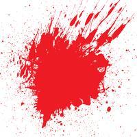 Bloed ploetert achtergrond vector