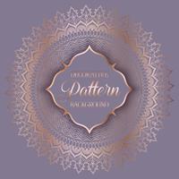 Decoratieve patroonachtergrond vector