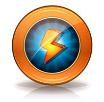 Lightning Icons Badge voor Game Ui